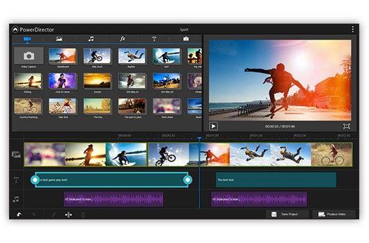 phần mềm video Power Director