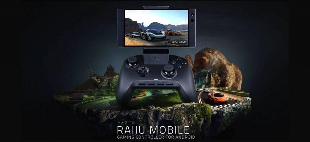 tay cầm Razer Raiju Mobile