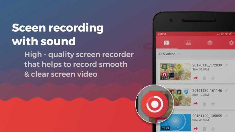 quay màn hình android Screen Recorder