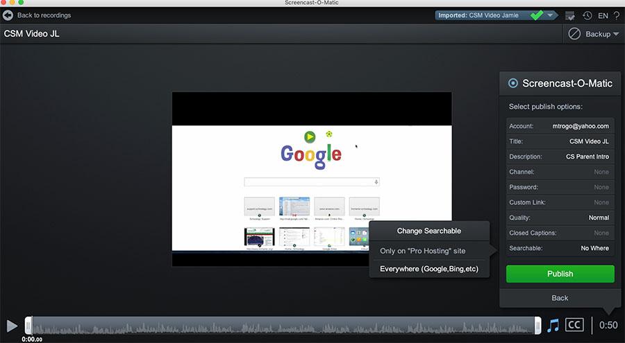 quay màn hình Screencast-O-Matic