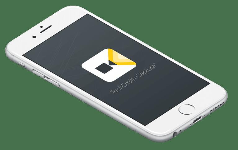 App quay màn hình iphone TechSmith Capture