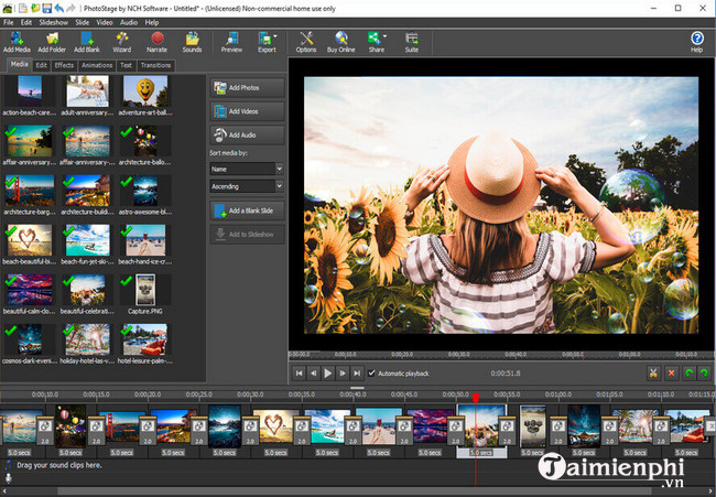 phần mềm PhotoStage Slideshow