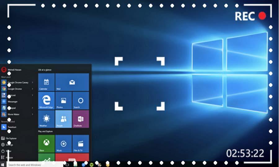 Phần mềm quay video màn hình