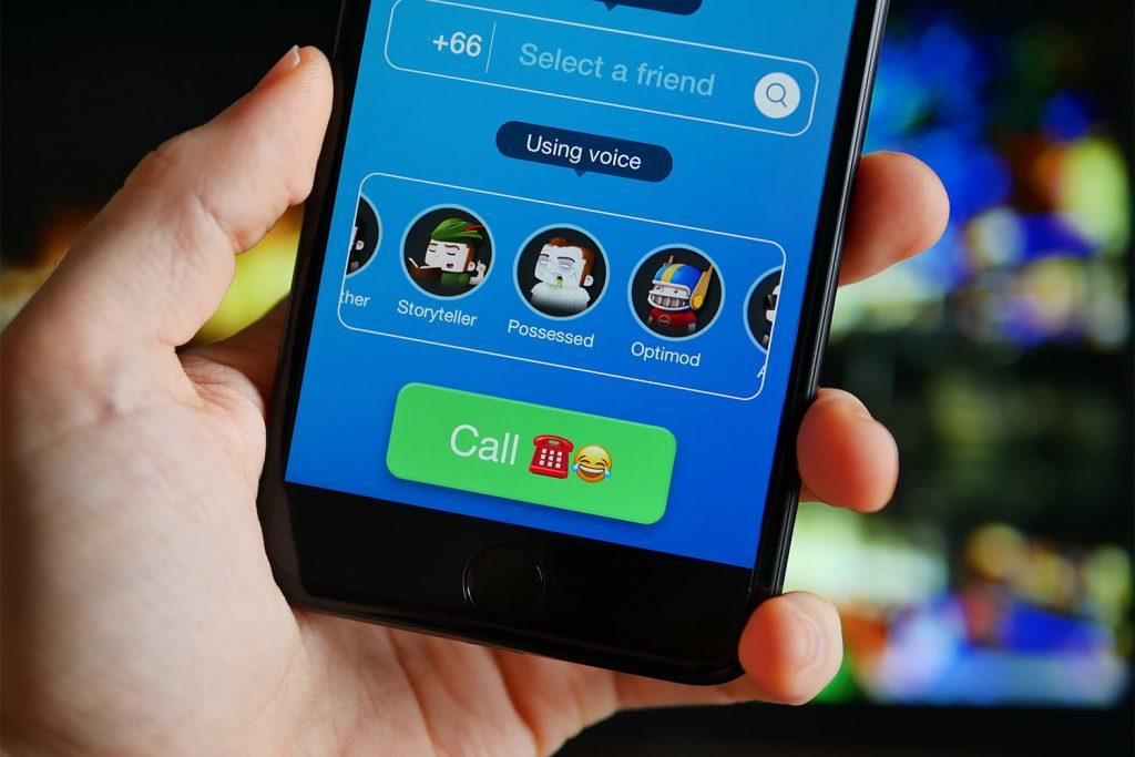 app đổi giọng nói Call voice changer