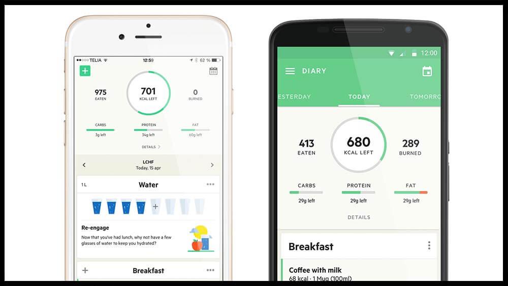 app đo calo Lifesum