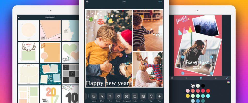 app ghép ảnh LiveCollage