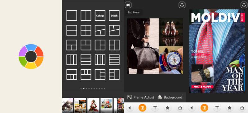 app ghép nhiều ảnh Moldiv