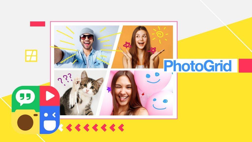 app ghép ảnh PhotoGrid