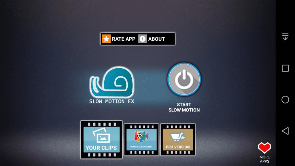 phần mềm Slow Motion Video FX