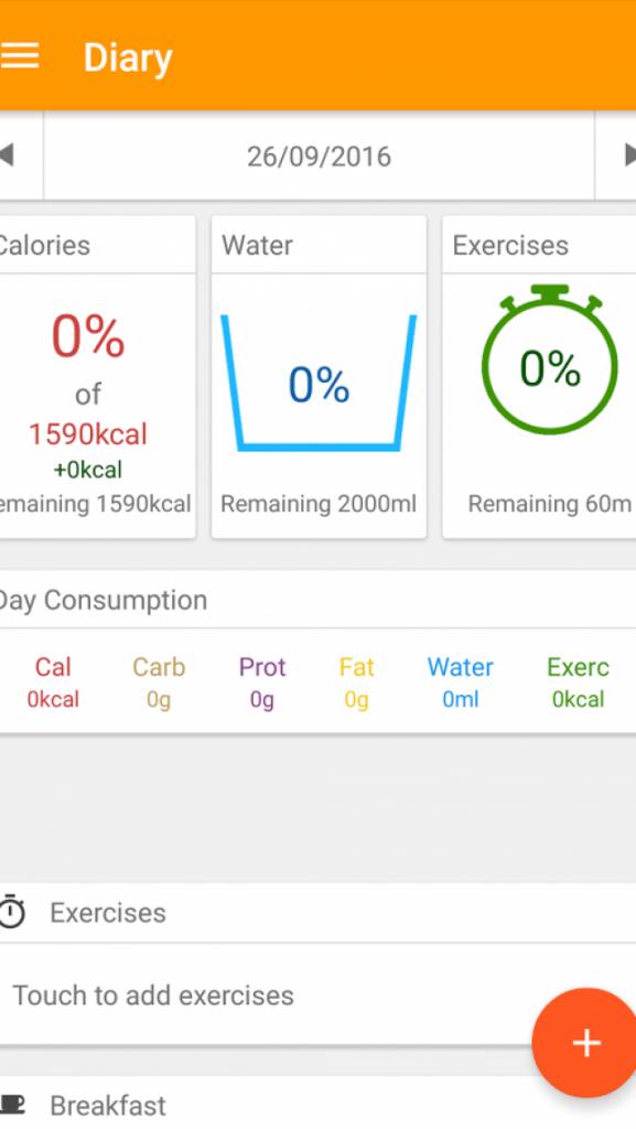 app đo calo Technutri
