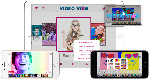 phần mềm ghép nhạc Video Star