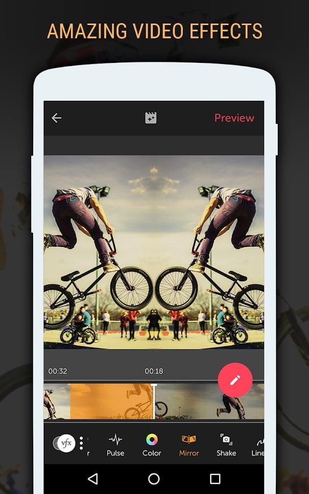 ứng dụng làm chậm video Vizmato