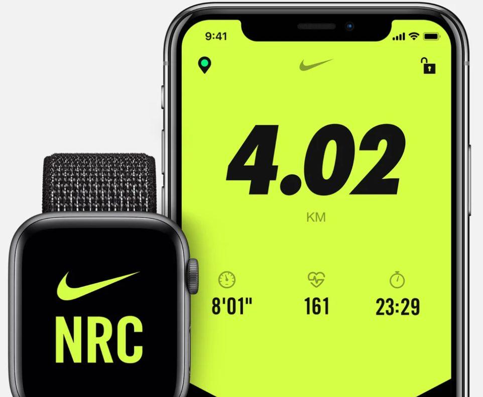 cách tính calo Nike run club