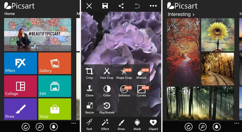 ứng dụng PicsArt