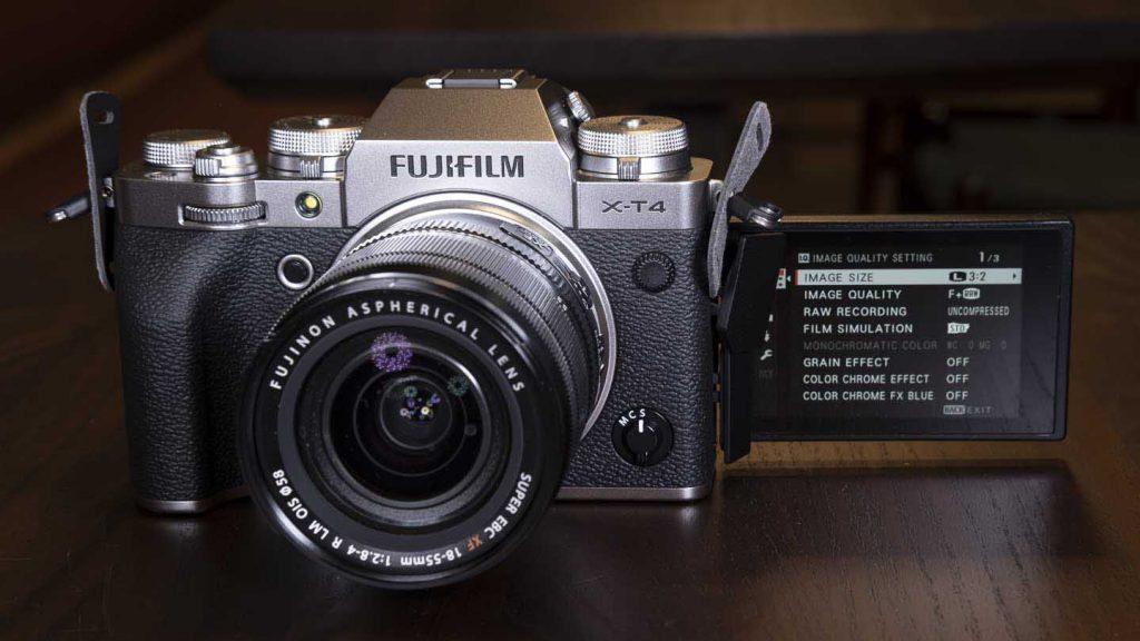 máy ảnh Fujifilm X-T4