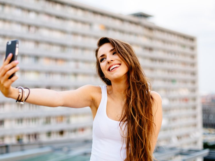 cách Selfie đẹp
