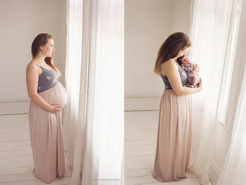 chụp mẹ bầu