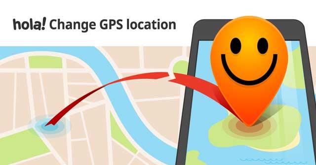 Fake GPS hola