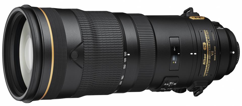 Nikon 120-300mm f2.8E AF-S FL ED SR VR