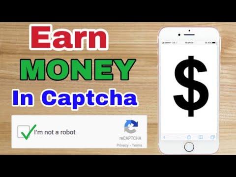 gõ Captcha kiếm tiền trên điện thoại